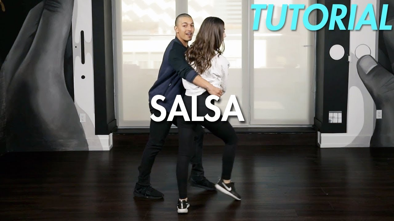 How to Salsa: The Cradle Step (Ballroom Dance Moves Tutorial)   MihranTV - YouTube