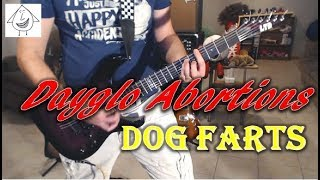 Dayglo Abortions - Dog Farts - Guitar Cover (Tab in description!)