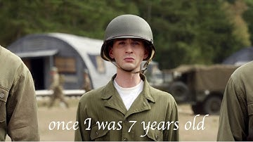   Steve Rogers - once I was 7 years old  