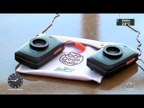 Botão do pânico deve ajudar a proteger mulheres vítimas de violência | SBT Notícias (28/11/17)