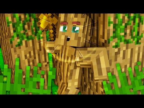 NON MI HA VISTO!! INCREDIBILE!! - Minecraft I Am Wood Challenge