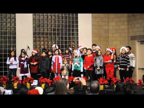 Holiday Blessing By 3th Grade Escalona Elementary School