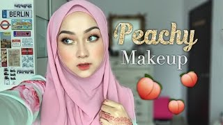Peachy Makeup feat. Sofieya Beauty Foundation | Morphe 35O