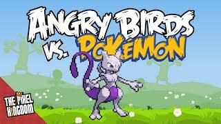 Pokémon vs. Angry Birds - Mewtwo