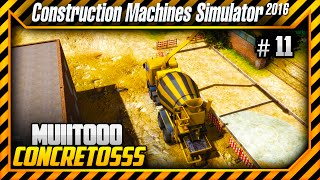 Construction Machines Simulator 2016 - Concretando um Estacionamento