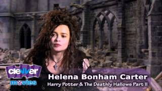 "Helena Bonham Carter Talks ""Bellatrix Lestrange"" In"