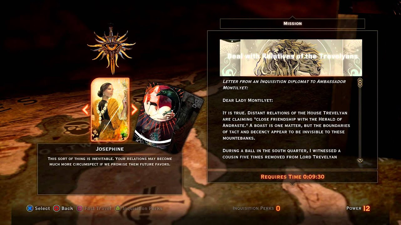 Dragon Age Inquisition War Table Missions Build Watch Towers Address A Leman S Concerns
