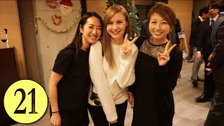 work party cola flavoured tea vlogmas in japan day 21