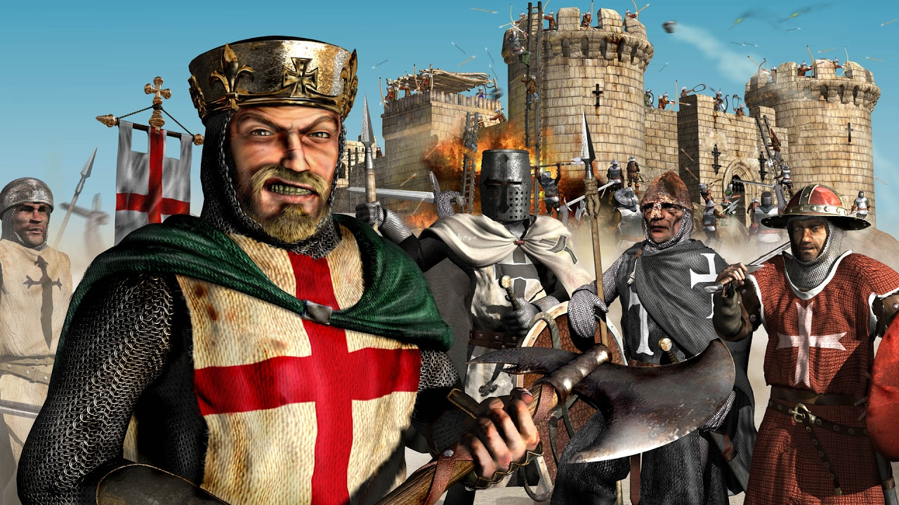 خرائط لعبة stronghold crusader