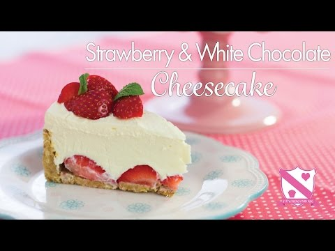 Strawberry White Chocolate Cheesecake Recipe In The