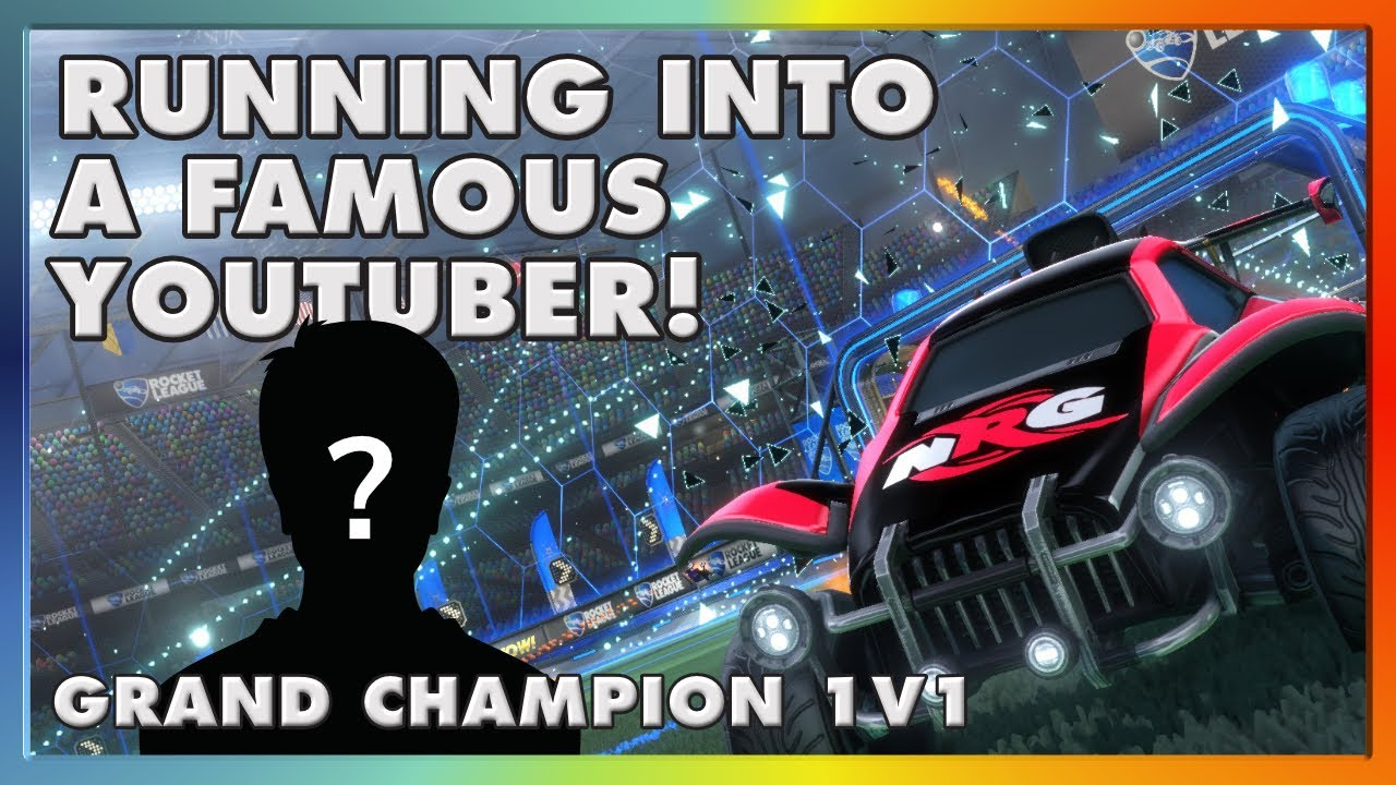 RUNNING INTO A FAMOUS YOUTUBER! | GRAND CHAMPION 1V1
