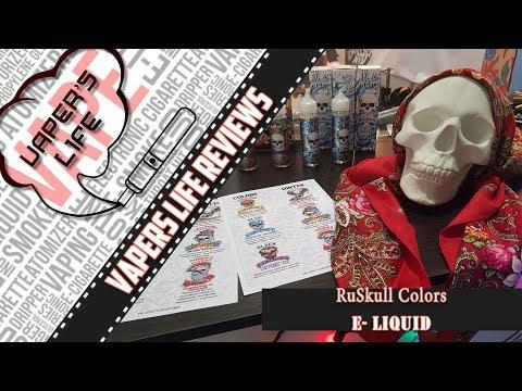 Жидкость RuSkull Colors | vk.com/ruskullvape | С русской душой