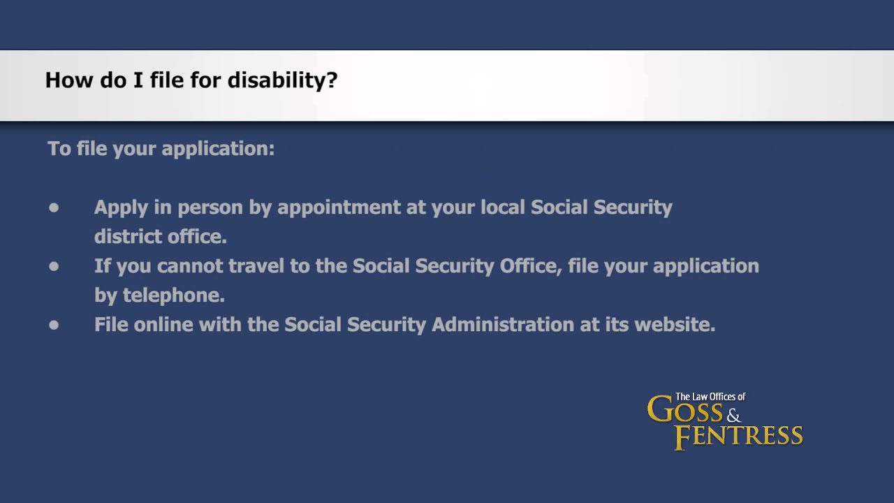 FAQ: Social Security Disability and SSI - The Law Offices of