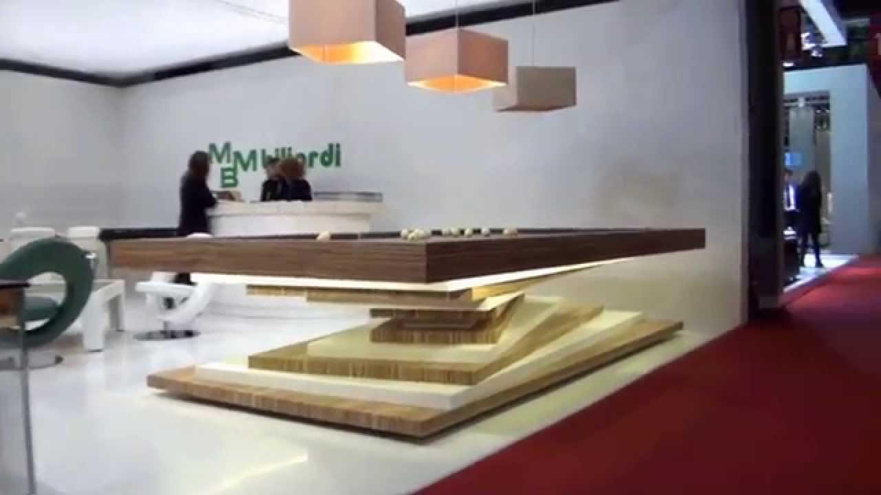 Nuova collezione mbm biliardi al salone internazionale del for Mostra del mobile milano