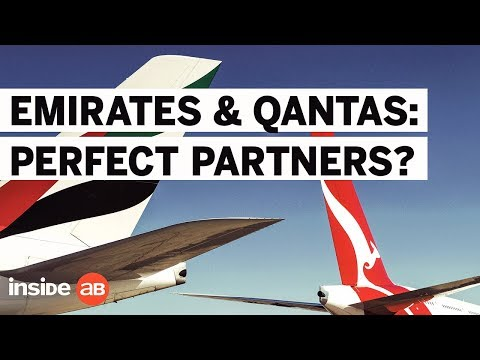 What's the deal with Emirates and Qantas?