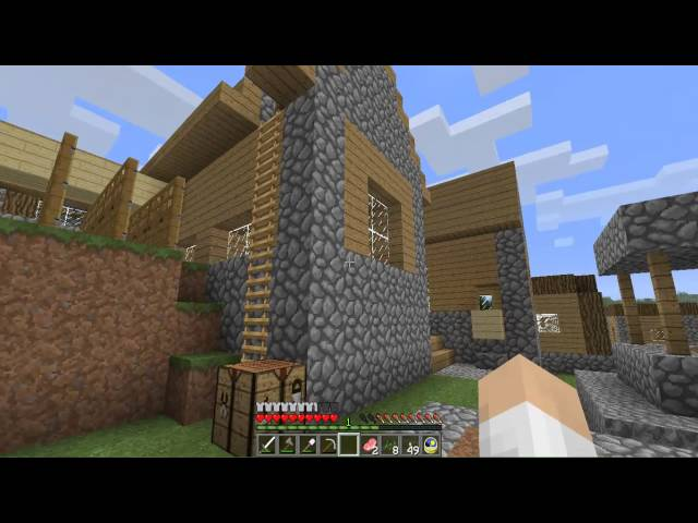 Minecraft 1.5.1 truco aldeanos y obsidiana Videos De Viajes