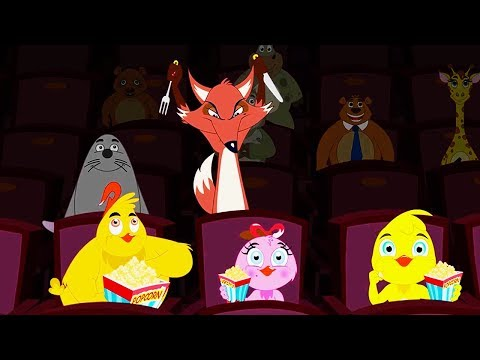 Eena Meena Deeka | At the Cinema | Funny Cartoon Compilation | Cartoons for Children