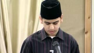 Gulshan-e-Waqfe Nau Khuddam 8 Jan 2011, Educational class with Hadhrat Mirza Masroor Ahmad
