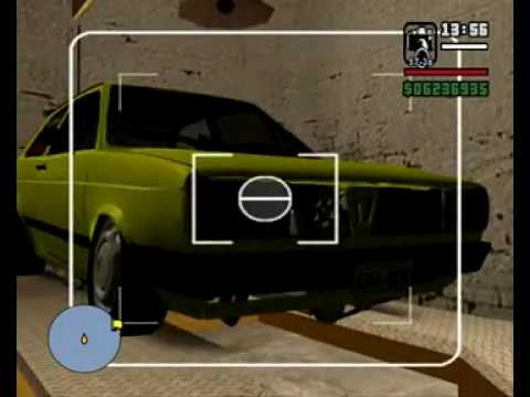 Gol LS 86 AP Turbo (Funcionando) - GTA San Andreas By MaaRLooN 3D