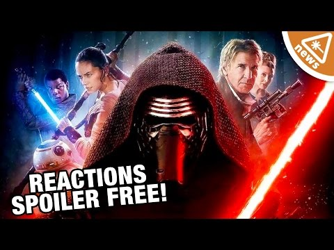 Star Wars The Force Awakens SPOILER FREE Critic Reactions! (Nerdist News w/ Jessica Chobot)