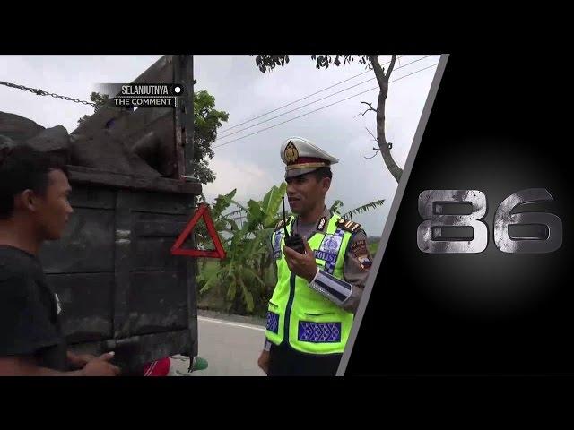 86 Patroli Angkutan Berat di Magelang