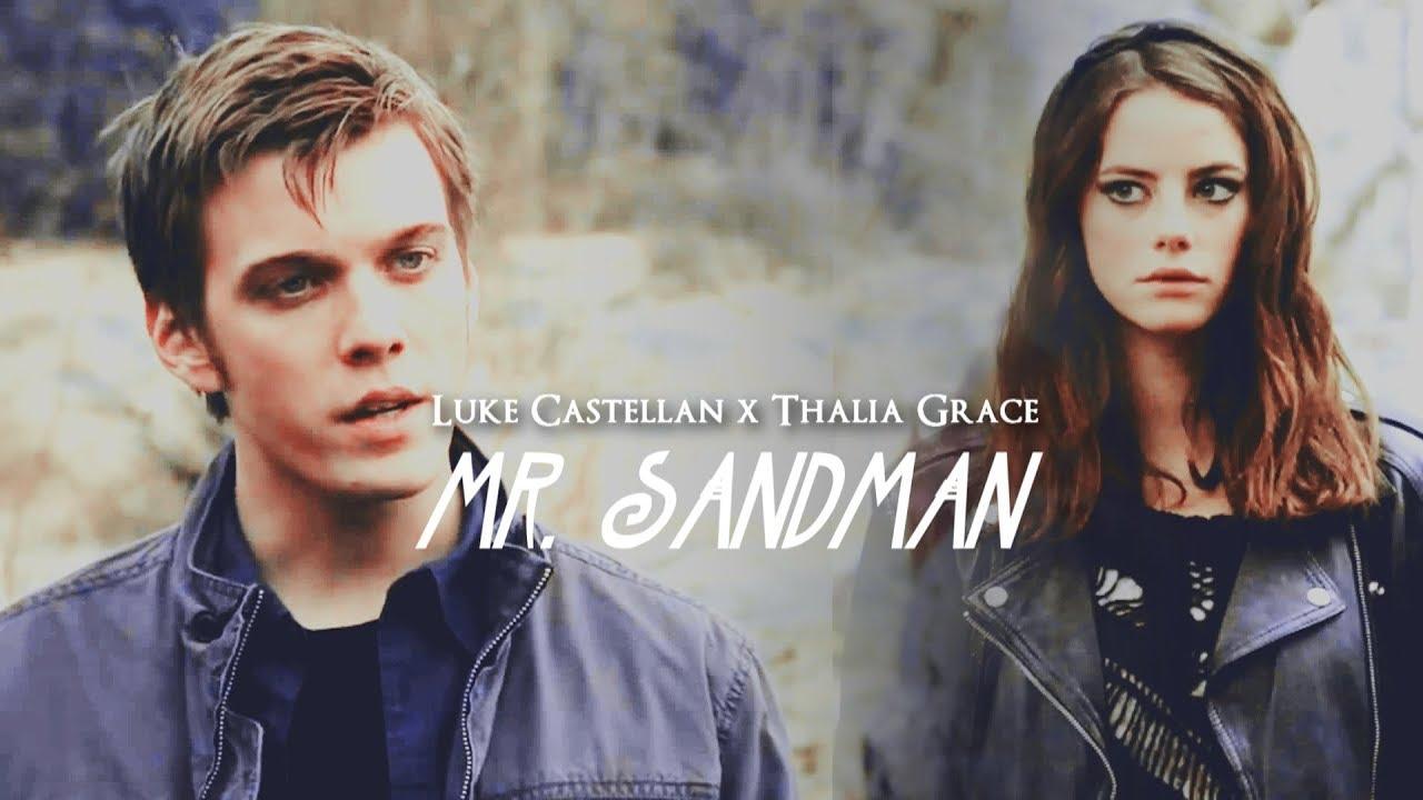 luke castellan x thalia grace // mr. sandman (BWS ...