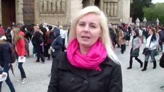 Нотр-Дам де Пари - место, где сбываются женские желания, видео-привет от Татьяны Русиной(Татьяна Русина http://psytraining.org/stars/ из Парижа, Нотр-Дам де Пари., 2013-05-12T10:36:50.000Z)