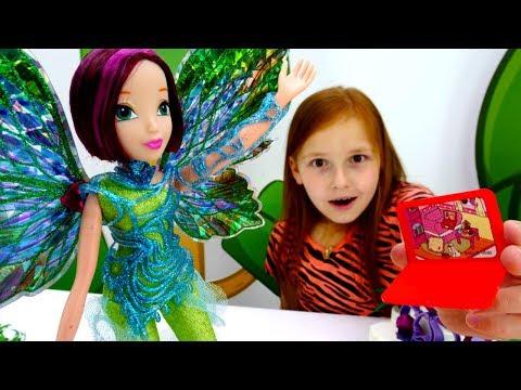 Волшебная коробка - Феи Винкс и ЛОЛ удаляют вирус
