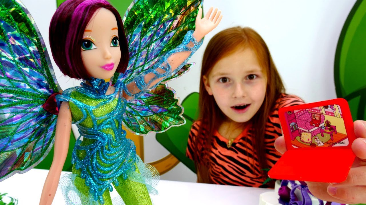 Волшебная коробка - Феи Винкс и ЛОЛ удаляют вирус - YouTube