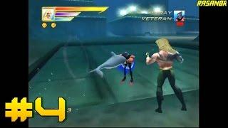 Aquaman - Battle For Atlantis (GCN) walkthrough part 4