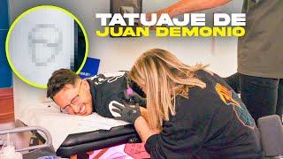 EL TATUAJE de JUAN DEMONIO...!!  🤦🏻♂️👿