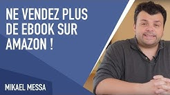 NE VENDEZ PLUS de Ebook sur Amazon