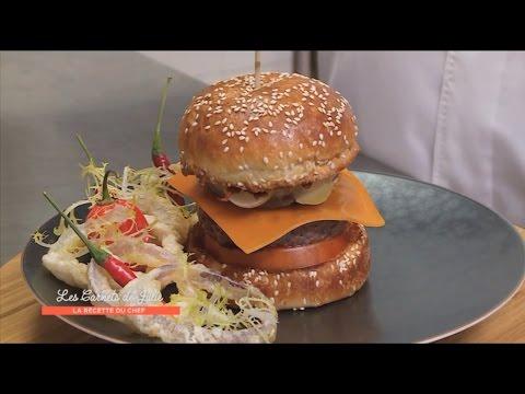 Recette : Burger de Thierry Marx - Les carnets de Julie - Hamburger à la carte !