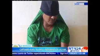 Capturan a guerrillero de las FARC que era nexo con cartel de 'El Chapo' Guzmán