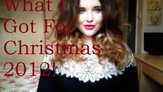 What I Got For Christmas 2012! Thumbnail