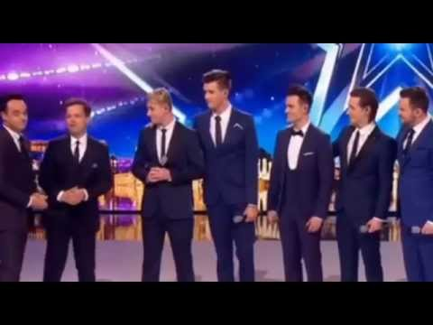 Collabro perform I Wont Give Up on Britains Got Talent hot 2015