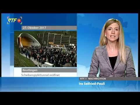 RTF.1-Nachrichten: Scheibengipfeltunnel Reutlingen eröffnet