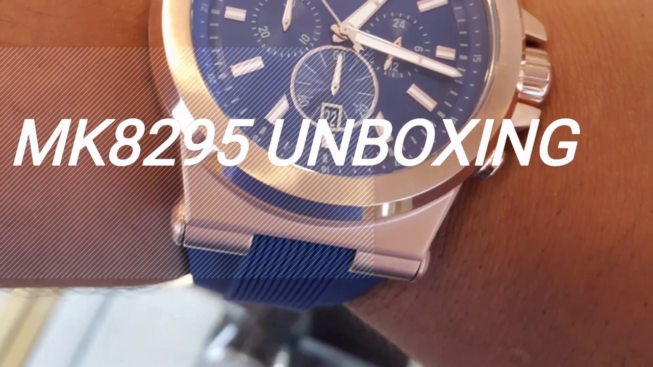 Michael Kors MK8295 Unboxing + Review by Review OTG 463fd958e1
