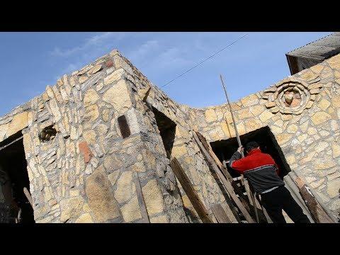 7. Кам'яний дім своїми руками / Stone house / Каменный дом / Частина 7