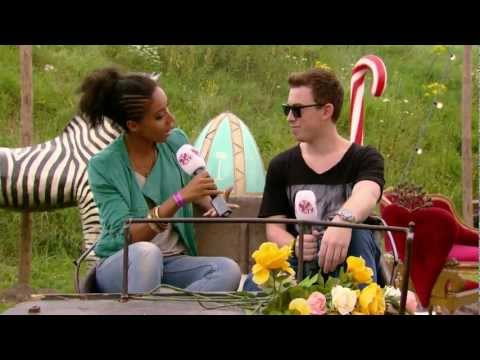 Hardwell - Interview at Tomorrowland 2012