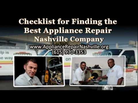 checklist-for-finding-the-best-appliance-repair-nashville-company:-greenway-(615)-970-3353