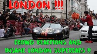 London Supercar Rally | LaFerrari, Porsche 918, Mclaren P1 & More | #108