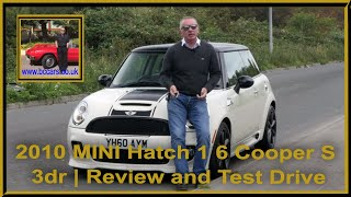 2010 MINI Hatch 1 6 Cooper S 3dr Yh60aym   Review and Test Drive