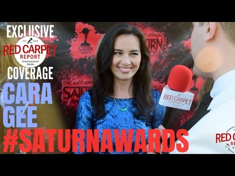 Cara Gee #TheExpanse interviewed at the 44th Annual Saturn Awards Red Carpet #SaturnAwards