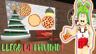 CHRISTMAS I GET TO WORK IN THE PIZZERIA - ROBLOX