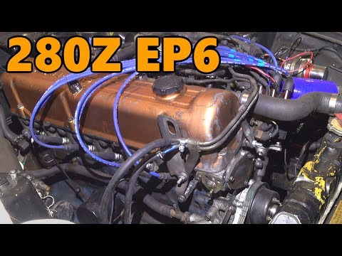 Datsun 280z Rebuilt Engine First Start (Ep.6)
