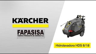 Hidrolavadora Industrial HDS 8/18-4 C - Kärcher FAPASISA Paraguay