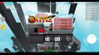 roblox battles (Next video I'll probobley play better)