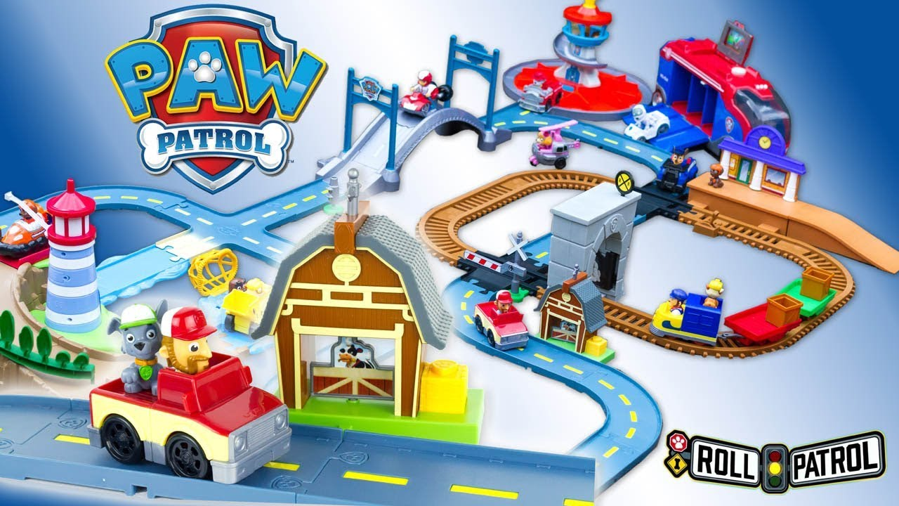 1 Patrol Tower In Roll 4 Paw Mega Rocky's Lookout Track Toy Pack Review Barn Rescue Lighthouse bYfyvI76g