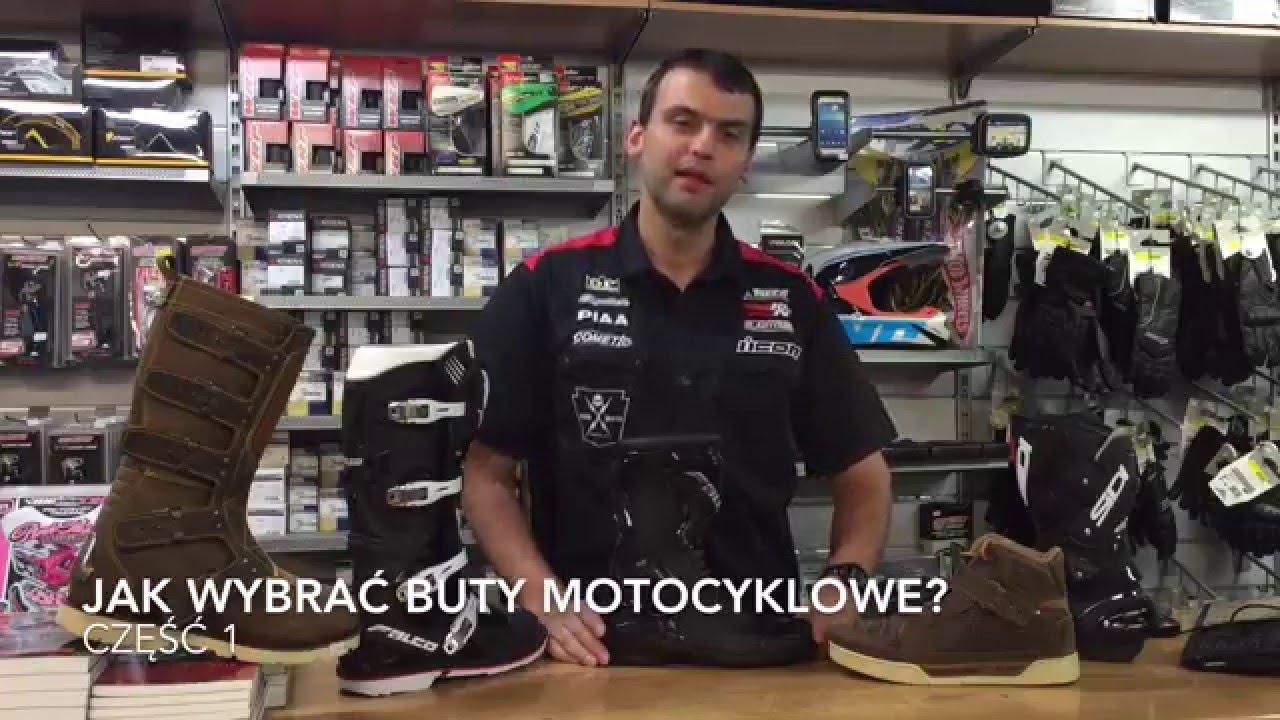 Jak Wybrac Buty Motocyklowe Youtube